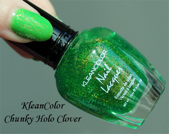 CleanColor Chunky Holo Clover Swatch & Review