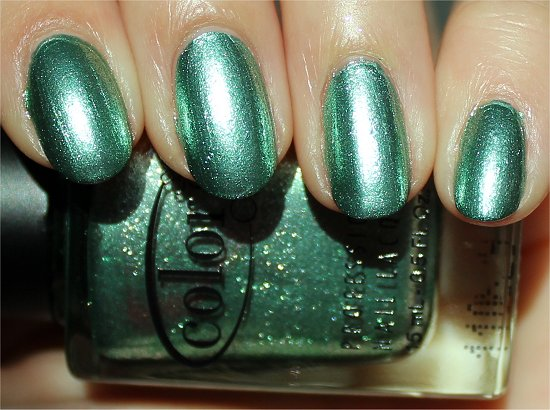 Color Club Foiled Collection Swatches & Review Perfect Mol-ten Swatch & Review