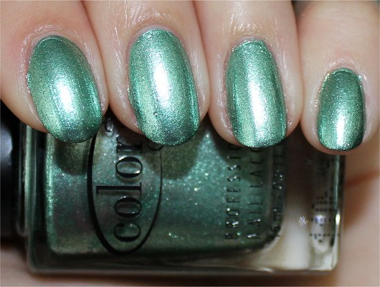 Color Club Perfect Mol-ten Review & Swatch Foiled Collection