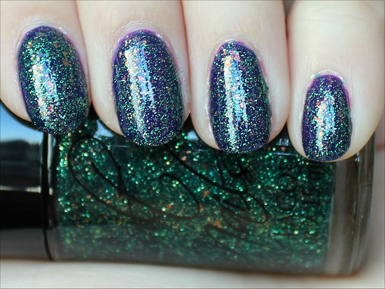 Cult Nails Nail Polish Toxic Seaweed Swatch & Review