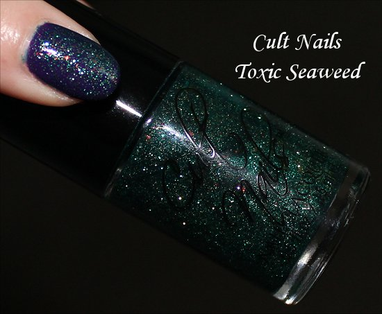 Cult Nails Toxic Seaweed Bottle Pictures