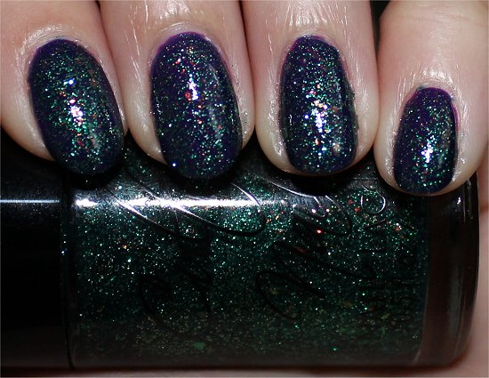 Cult Nails Toxic Seaweed Review, Swatches & Pics