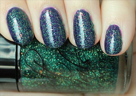 Cult Nails Toxic Seaweed Swatches, Review & Pics