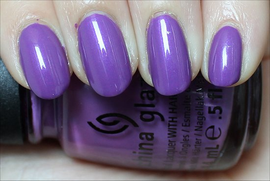 Gothic Lolita China Glaze ElectroPop Review & Swatches