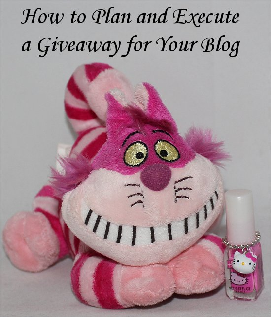 How to Plan a Giveaway for a Blog SwatchAndLearn