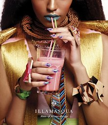 Illamasqua Human Fundamentalism Spring Summer 2012 Collection Press Release & Promo Pictures