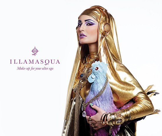 Illamasqua Human Fundamentalism Spring Summer Collection 2012 Press Release & Promotional Pictures