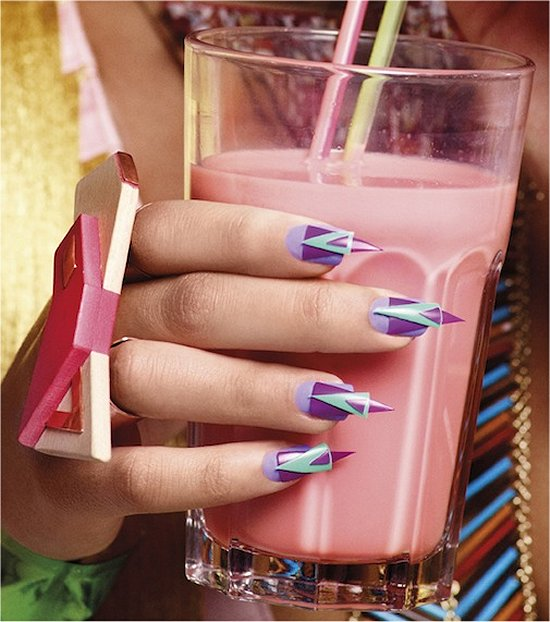 Illamasqua Nail Art Human Fundamentalism Collection Spring Summer 2012