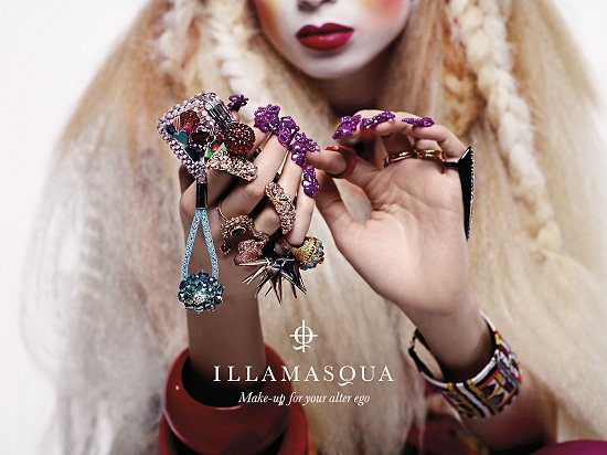 Illamasqua Spring Summer 2012 Human Fundamentalism Collection Press Release & Promo Pictures