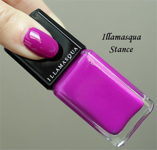 Illamasqua Stance Swatch & Review