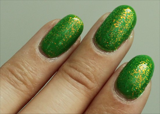 KleanColor Chunky Holo Clover Review, Swatch & Pics