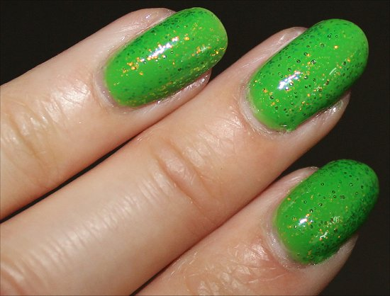 KleanColor Chunky Holo Clover Swatch & Review