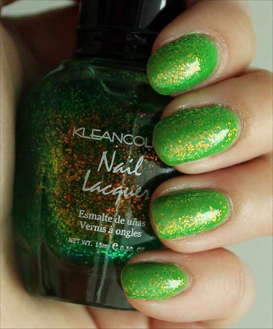 KleanColor Chunky Holo Clover Swatches & Review