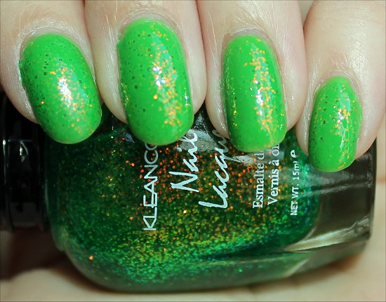 KleanColour Chunky Holo Clover Review & Swatch