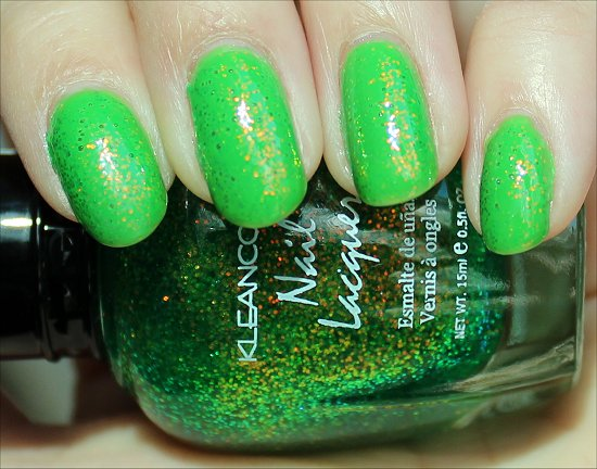 KleanColour Chunky Holo Clover Review & Swatches
