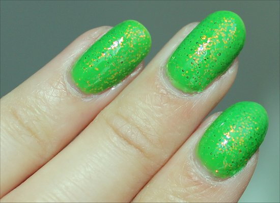 KleanColour Chunky Holo Clover Swatch & Review