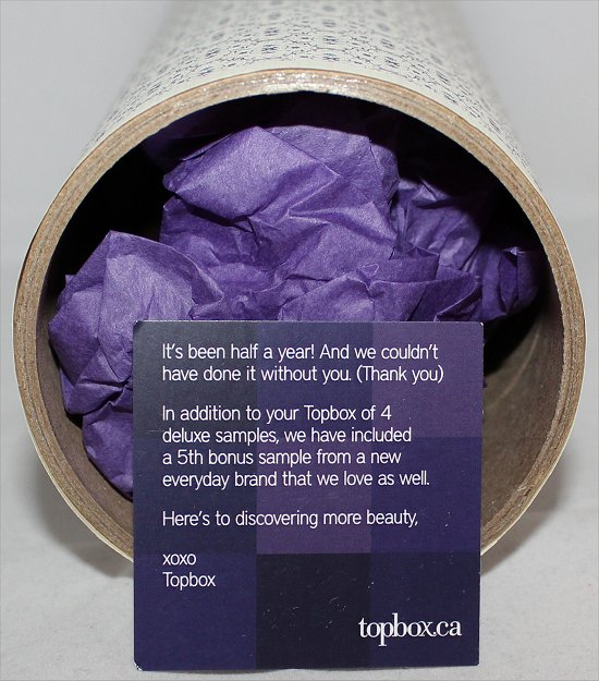 March 2012 Topbox.ca Review & Pictures