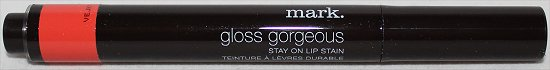 Mark Gloss Gorgeous Stay On Lip Stain Topbox March 2012 Review & Pics