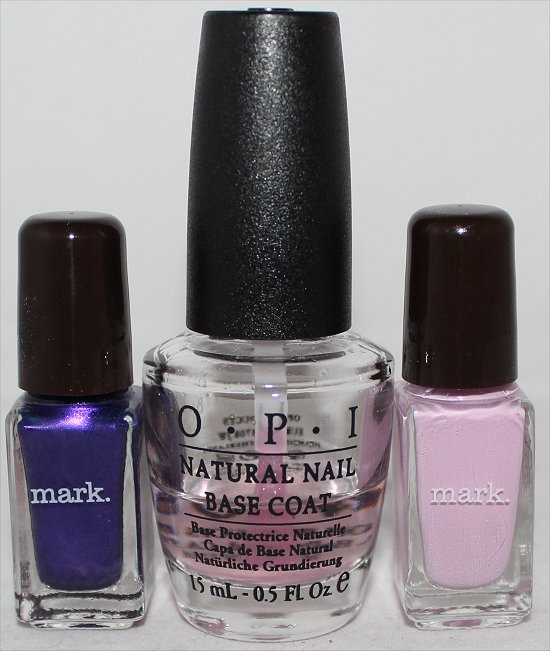 Mark Mini Nail Lacquers March 2012 Topbox Review & Pictures