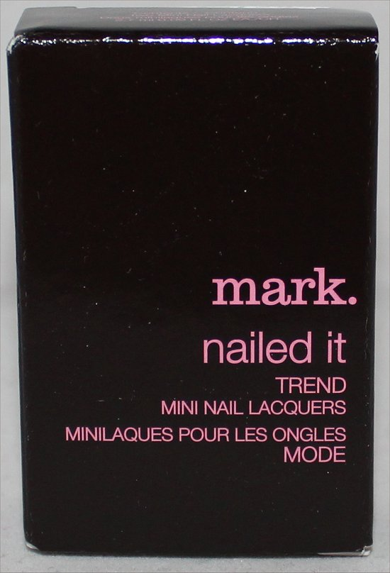 Mark Nailed It Trend Mini Nail Lacquers March 2012 Topbox.ca Review & Pictures