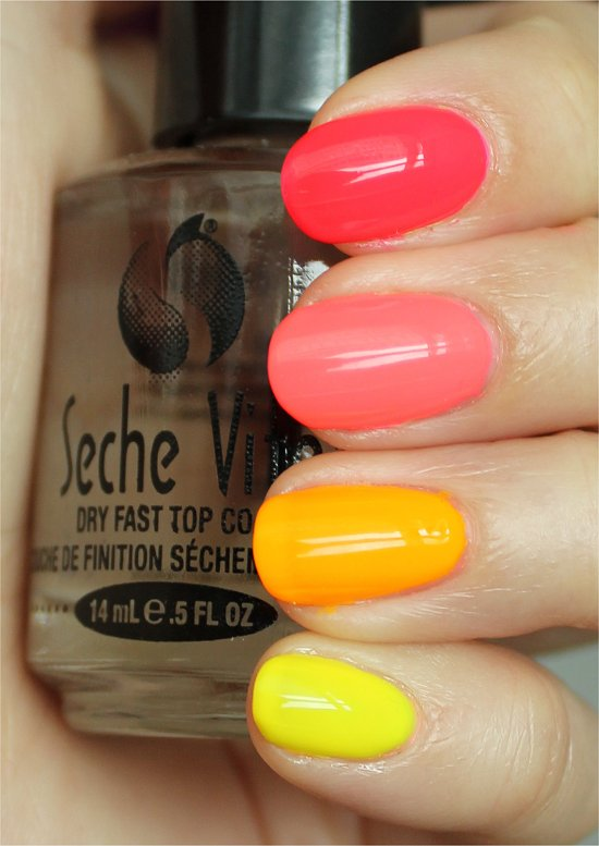 Neon Ombre Swatches & Review