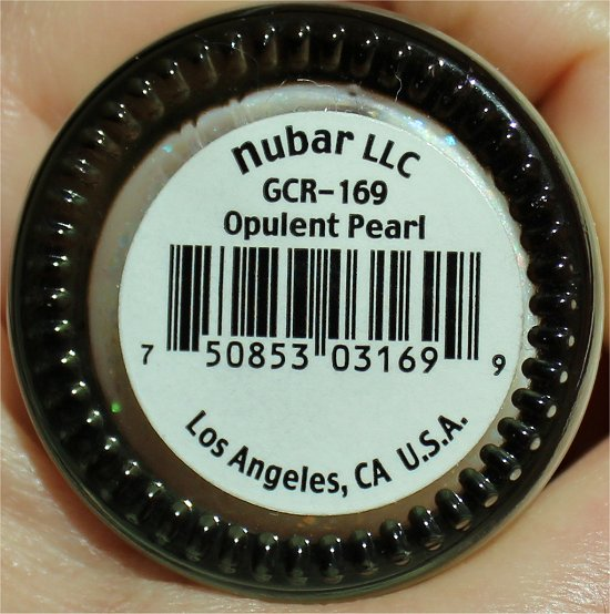 Nubar Opulent Pearl Review, Swatches & Photos
