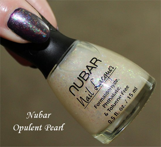 Nubar Opulent Pearl Swatch, Review & Photos