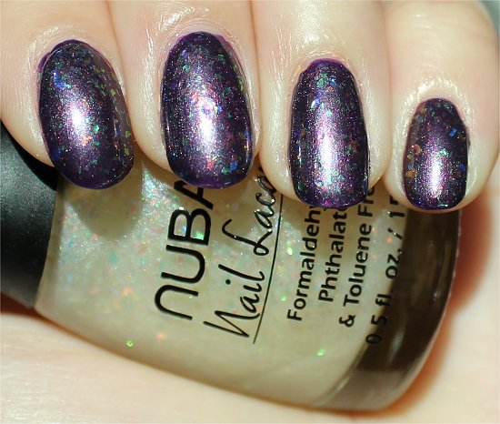 Nubar Opulent Pearl Swatch, Review & Pics