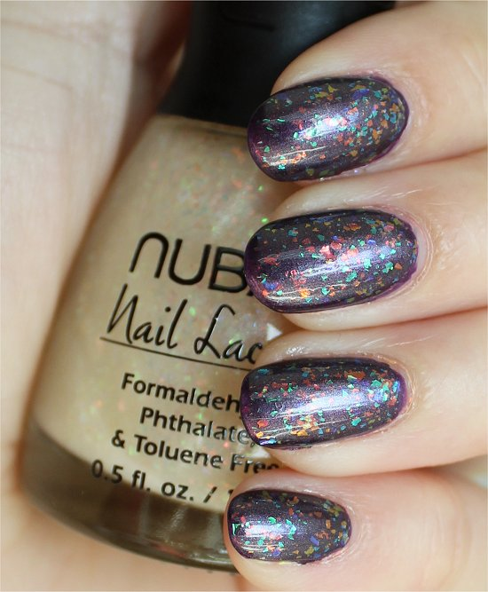 Nubar Opulent Pearl Swatches & Review