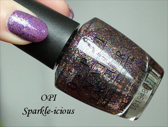 OPI Sparkle-icious Bottle Pictures, Review & Swatches