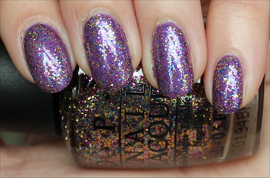 OPI Sparkle-icious Review & Swatch