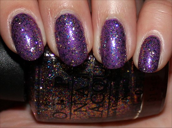 OPI Sparkle-icious Review & Swatches