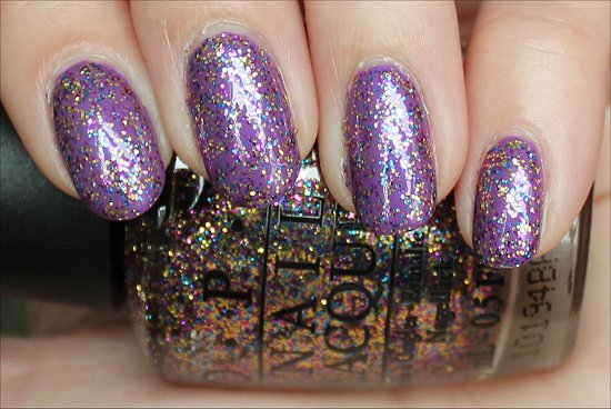 OPI Sparkle-icious Swatch, Review & Pictures