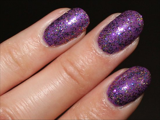 OPI Sparkle-icious Swatch & Review