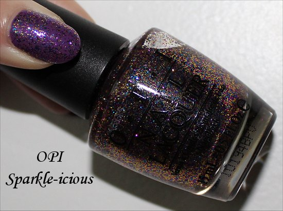 OPI Sparkleicious Swatch & Review