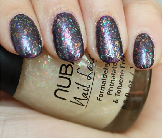 Opulent Pearl Nubar Swatch & Review