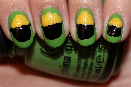 Pot of Gold Nails Nail Art Tutorial Step 5