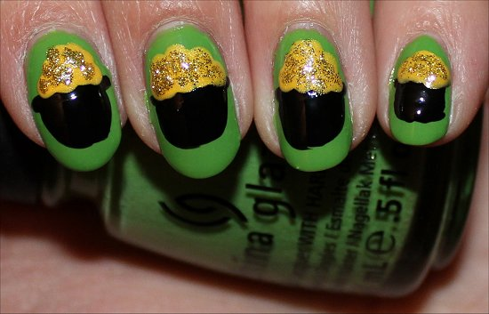 Pot of Gold Nails Nail Art Tutorial Step 6
