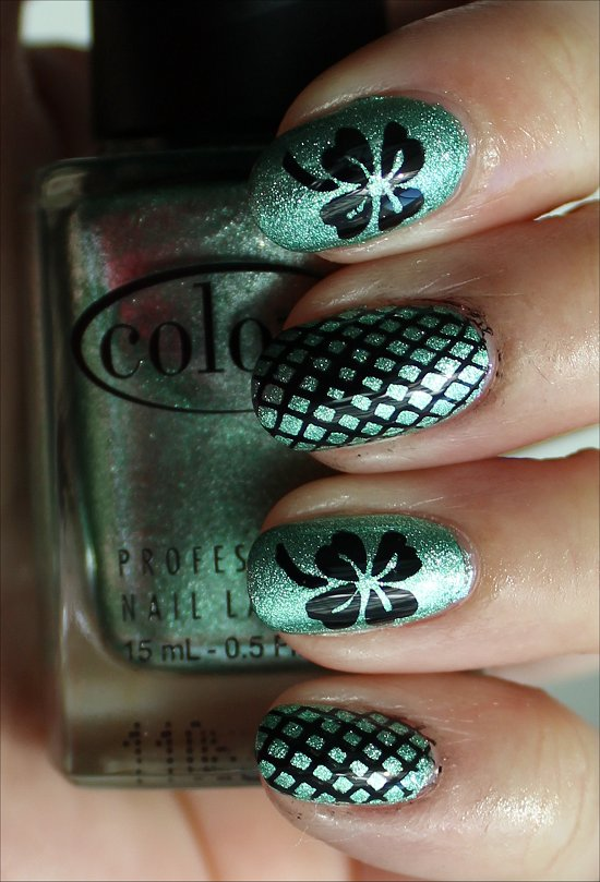Shamrock Nails Nail Art Swatches & Pictures