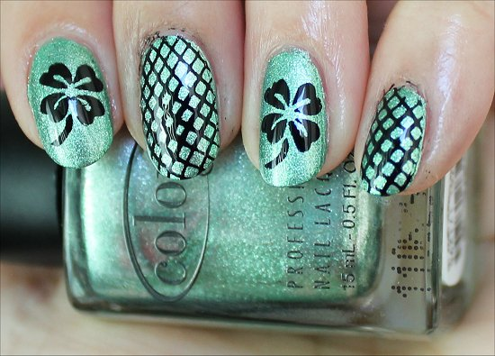 Shamrock Nails Nail Art