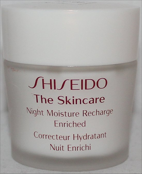 Shiseido The Skincare Night Moisture Recharge Enriched Review & Pictures