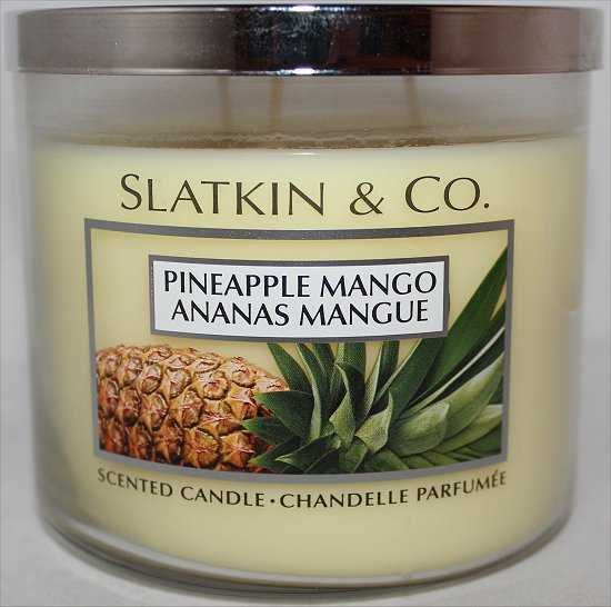 Slatkin & Co. Pineapple Mango Candle Review & Pictures Bath & Body Works