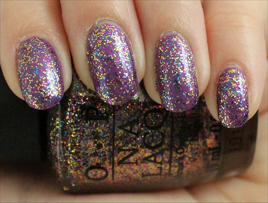 Sparkle-icious OPI Review & Swatches