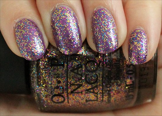 Sparkle-icious OPI Swatch & Review