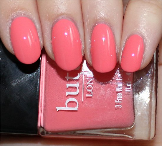 Trout Pout Butter London Swatches & Pictures