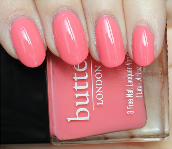 Trout Pout Butter London Swatches & Review