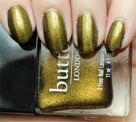 Wallis by Butter London Review & Swatch
