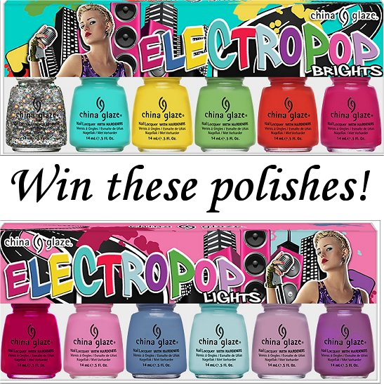 Win the China Glaze ElectroPop Collection Swatch And Learn