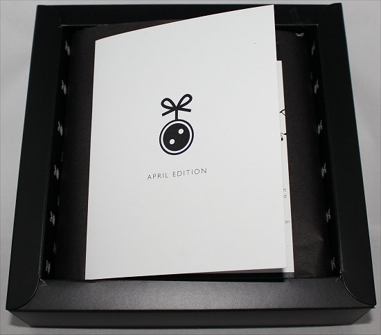 April 2012 Loose Button Luxe Box Review & Pictures