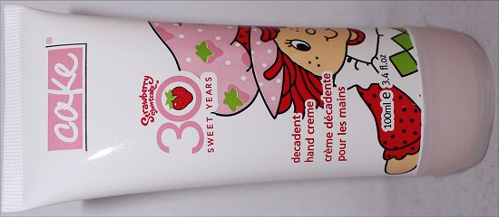 Cake Strawberry Shortcake Decadent Hand Creme Review & Pictures